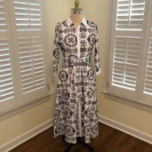 Zara Midi Length Dress Size L